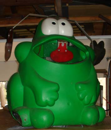 Huge Frog from Coin-operated Arcade Game For Sale in Massachusetts