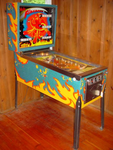1971 Bally Fireball Pinball Machine For Sale at R-Kade Games in Massachusetts